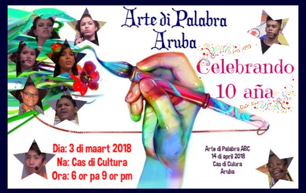 Poster kompetenshia Aruba 2018